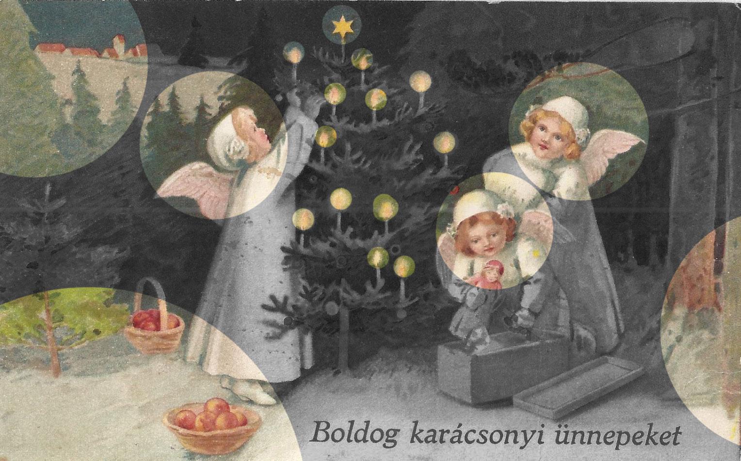 Angyaljárás, karácsonyfa